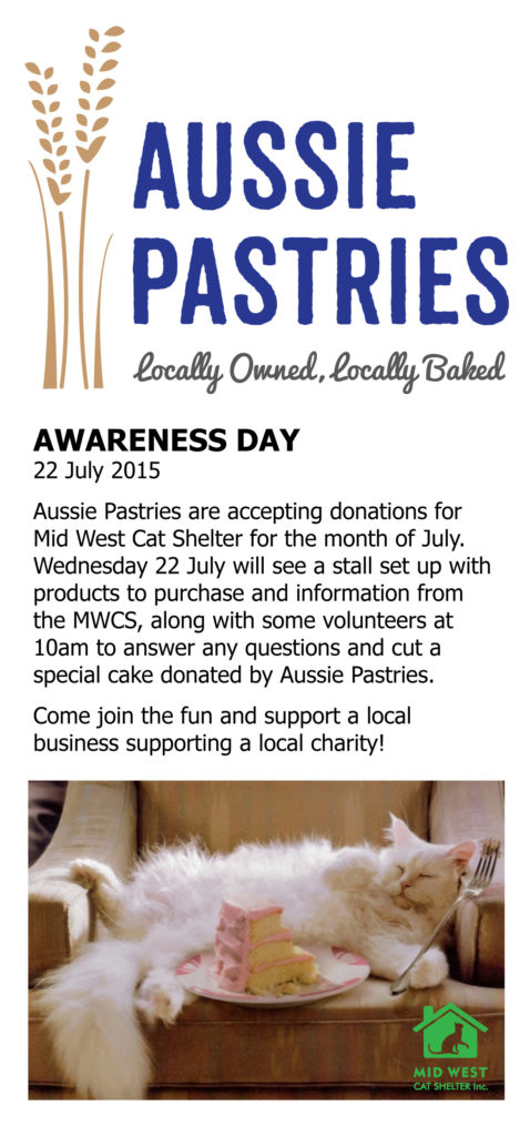 Aussie Pastries Awareness Day July 2015