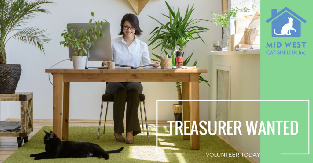 Treasurer Wanted