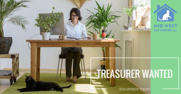 Treasurer Wanted